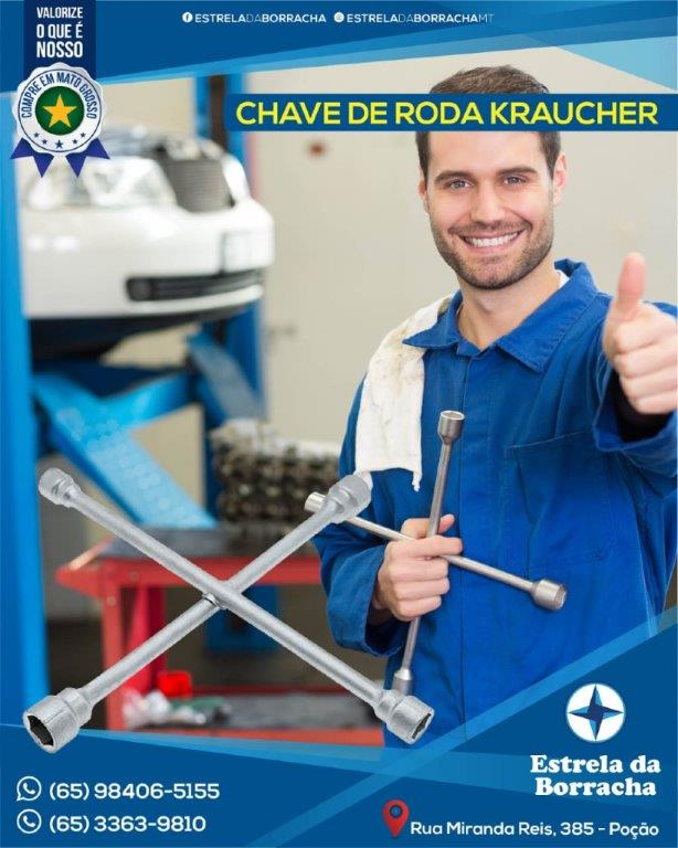 CHAVE DE RODA KRAUCHER