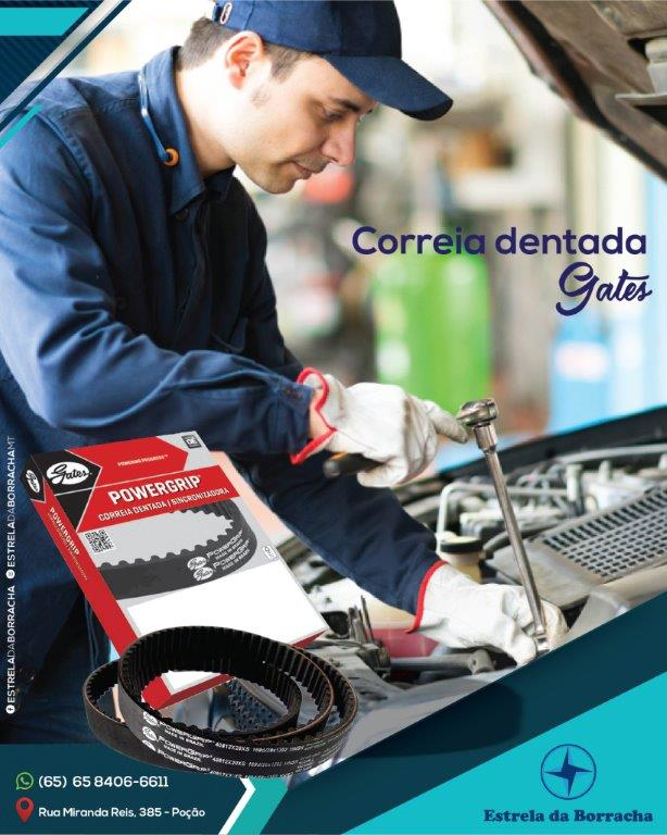 Correia Automotiva Gates