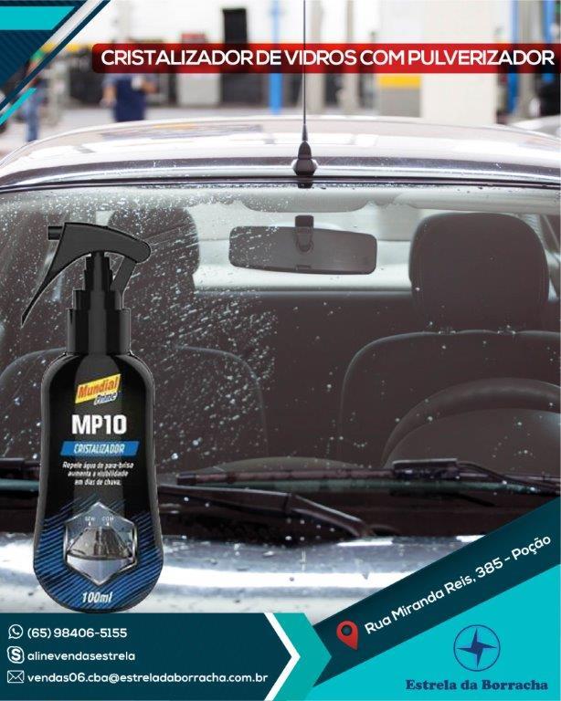 Cristalizador de Vidros MP10 Spray Mundial Prime