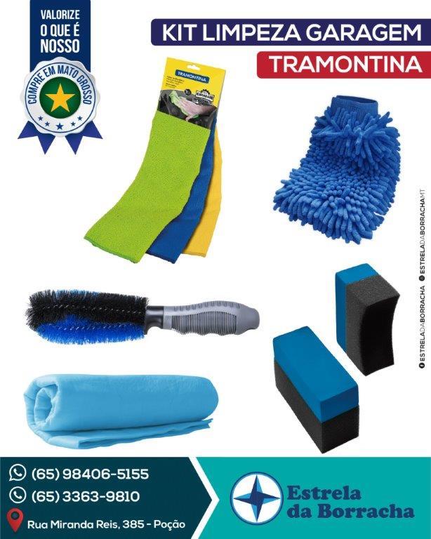 Kit Limpeza Garagem Tramontina