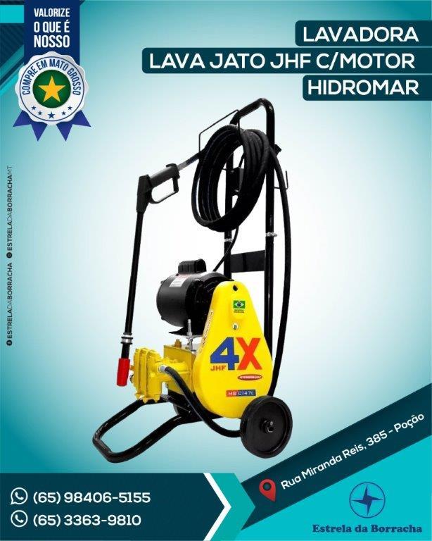 LAVADORA LAVA JATO JHF C/ MOTOR HYDRONLUBZ