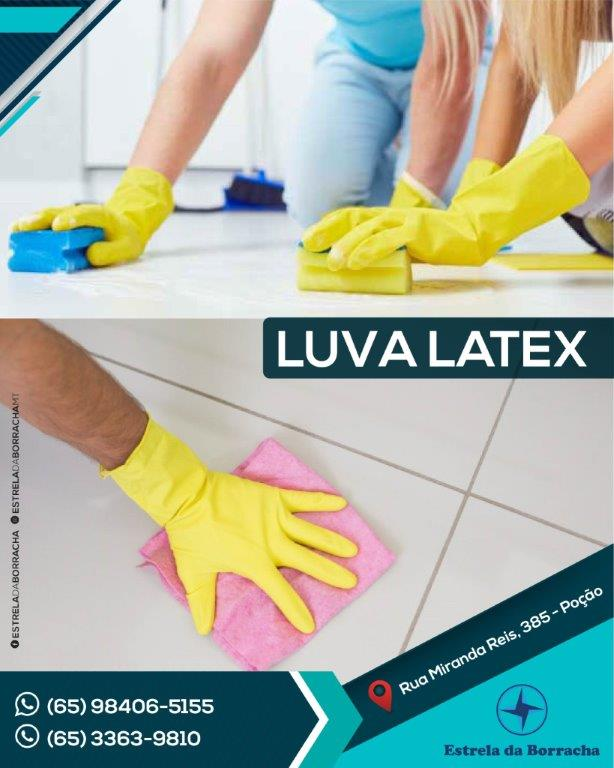 Luva Latex