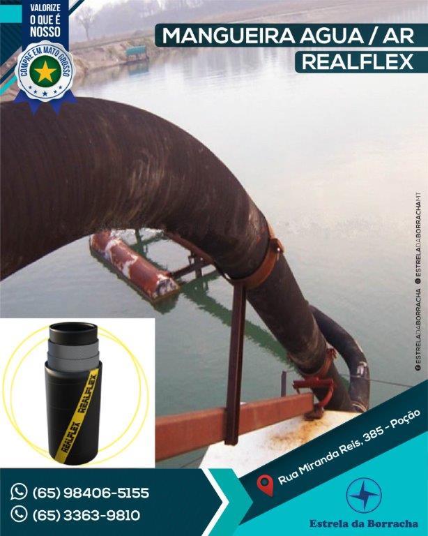 Mangueira Água Ar Reaflex