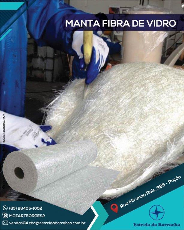 Manta de Fibra de Vidro Carplast