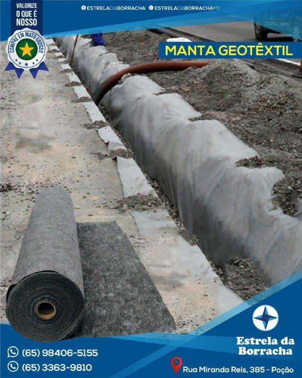 Manta Geotêxtil