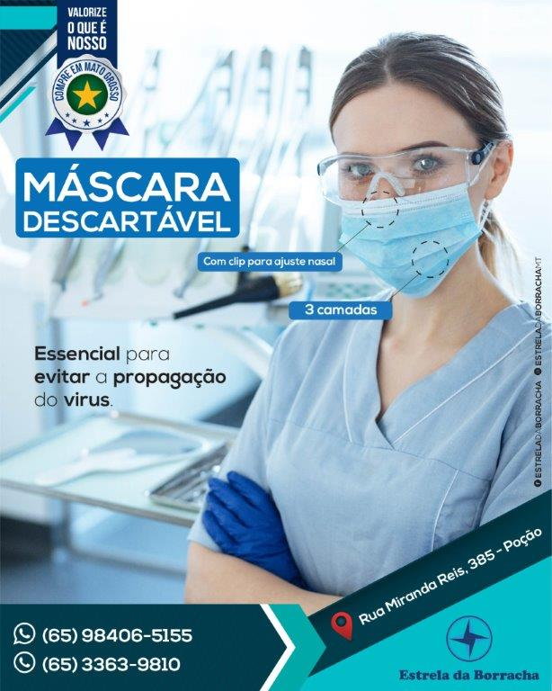 Mascara Descartavel