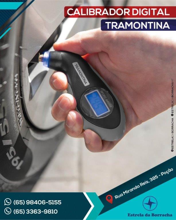 MEDIDOR DIGITAL DE PRESSÃO TRAMONTINA