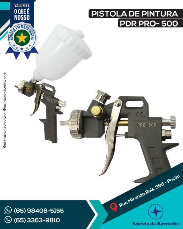 PISTOLA DE PINTURA PDR PRO - 500