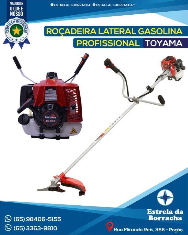 ROÇADEIRA GASOLINA PROFISSIONAL