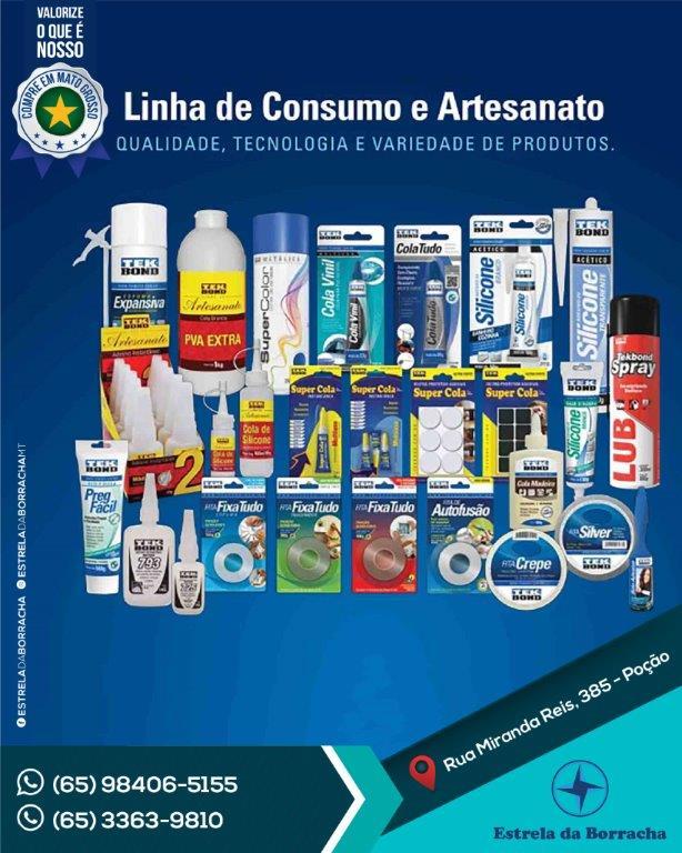 Tekbond Linha Consumo e Artesanato