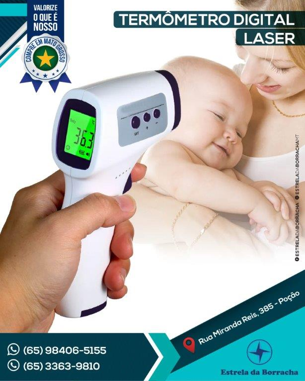 Termometro Digital Laser