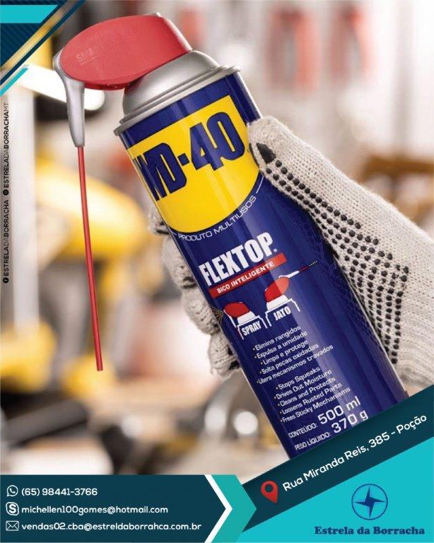 WD-40® Produto Multiusos – Embalagem Flextop - 500ML